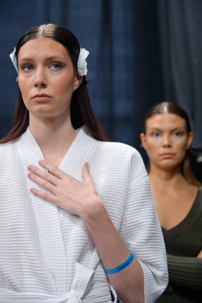 NY: Sukeina - Backstage - February 2020 - New York Fashion Week: The Shows