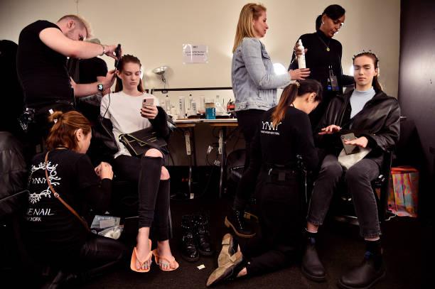 NY: Alejandra Alonso Rojas - Backstage - February 2020 - New York Fashion Week: The Shows