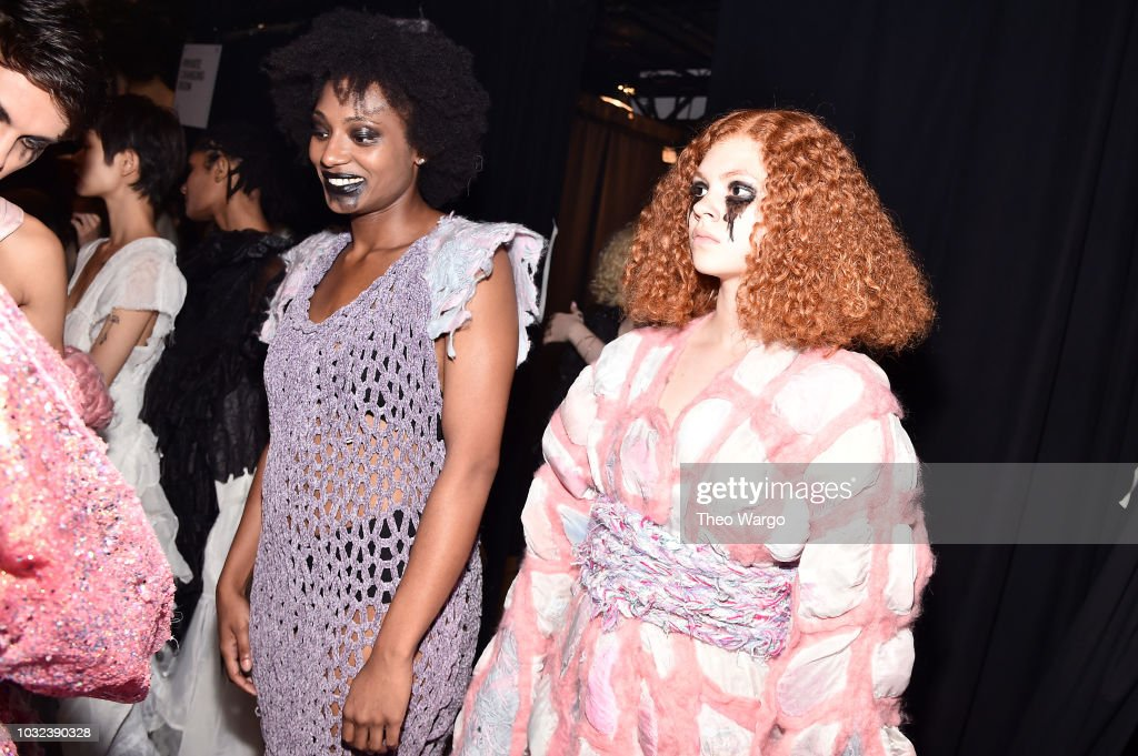 RISD - Backstage - September 2018 - New York Fashion Week: The Shows : News Photo