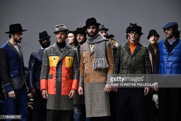 FRA: Junya Watanabe Man : Runway - Paris Fashion Week - Menswear F/W 2020-2021