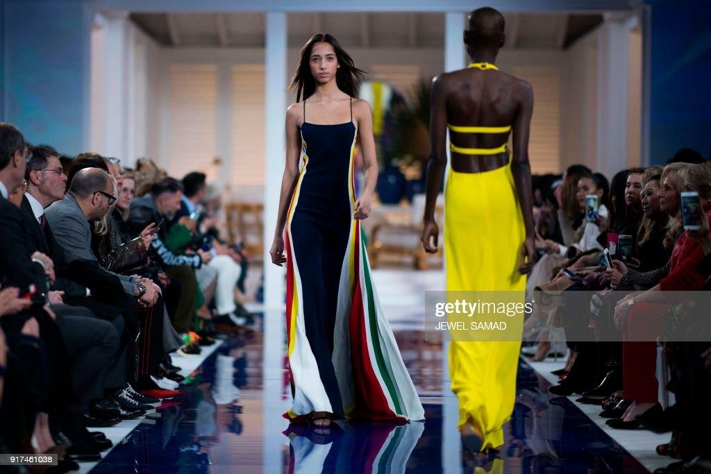 fashion-US-RALPH-LAUREN : News Photo