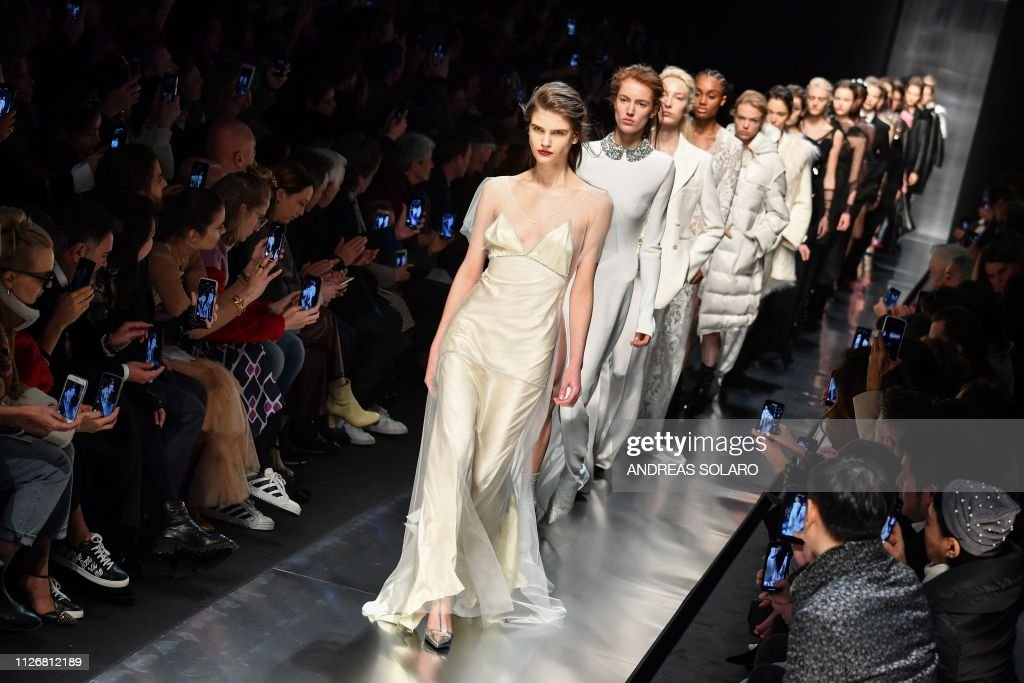 ITA: Ermanno Scervino - Runway: Milan Fashion Week Autumn/Winter 2019/20