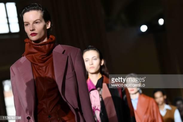 ITA: Salvatore Ferragamo - Runway: Milan Fashion Week Autumn/Winter 2019/20