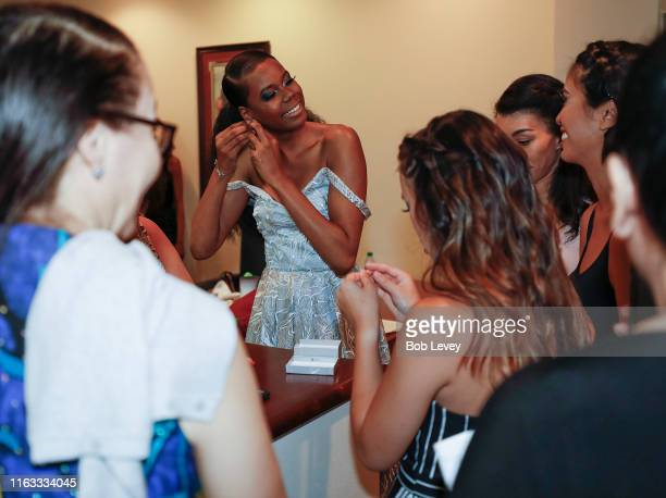 Models provided by Revalushion Management Agency for Solel International's Annual Fete Moroamericana featuring designs by Hamza Fashions and Audyssy...