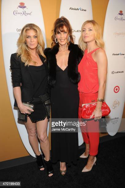Models Rachel Hunter Carol Alt and Daniela Pestova attend the Sports Illustrated Swimsuit 50 Years of Swim in NYC Celebration at the Sports...