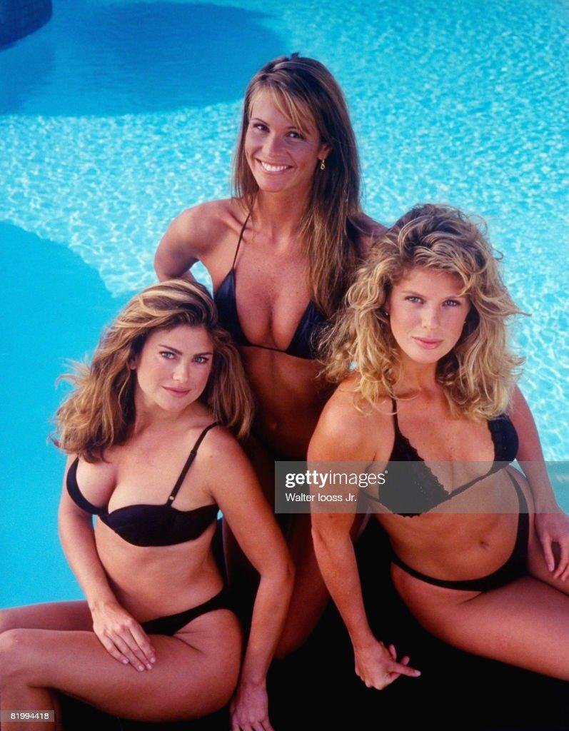 Elle Macpherson, Rachel Hunter and Kathy Ireland, SI, Swimsuit 1994