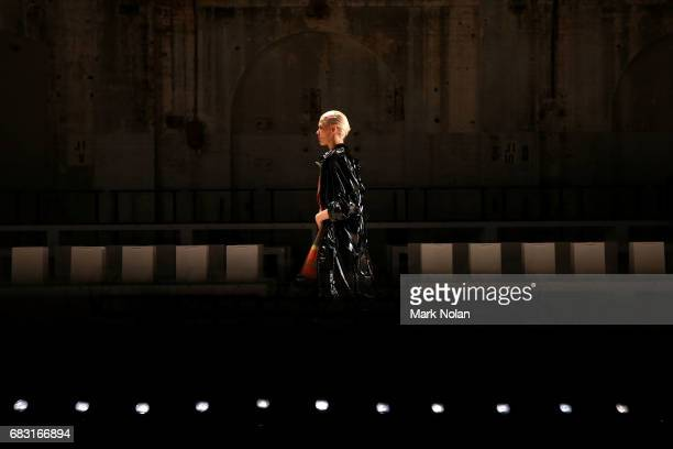 Models rehearse ahead of the Karla Spetic show at MercedesBenz Fashion Week Resort 18 Collections at Carriageworks on May 15 2017 in Sydney Australia