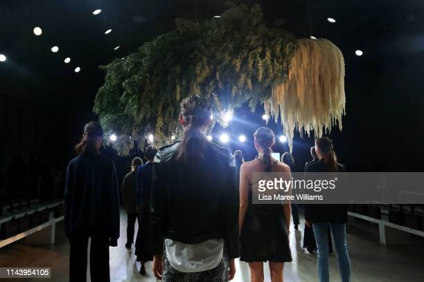 Models rehearse ahead of the Thurley show at MercedesBenz Fashion Week Resort 20 Collections at Carriageworks on May 15 2019 in Sydney Australia