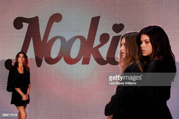 Models rehearse on the catwalk for the Nookie collecion show during Rosemount Australian Fashion Week Spring/Summer 2010/11 at the Overseas Passenger...