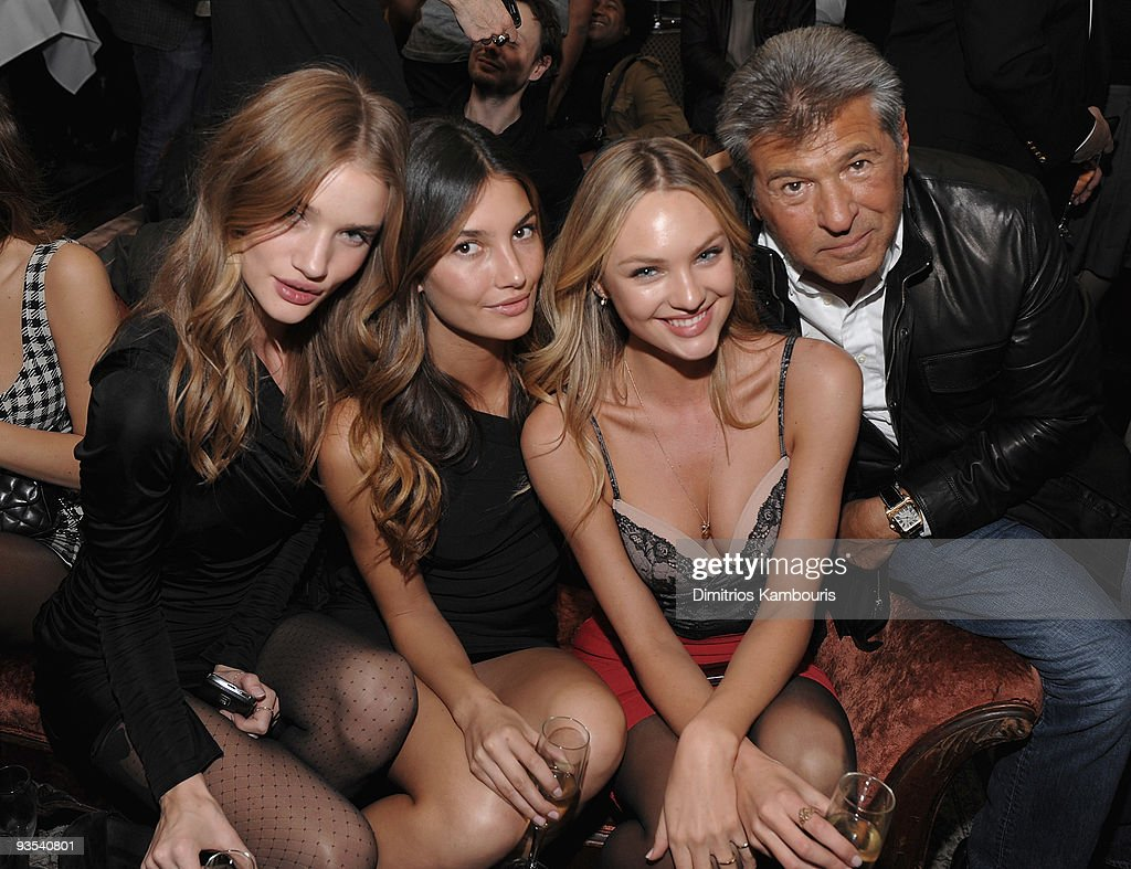 Victoria's Secret Fashion Show Viewing Party at The Box : News Photo