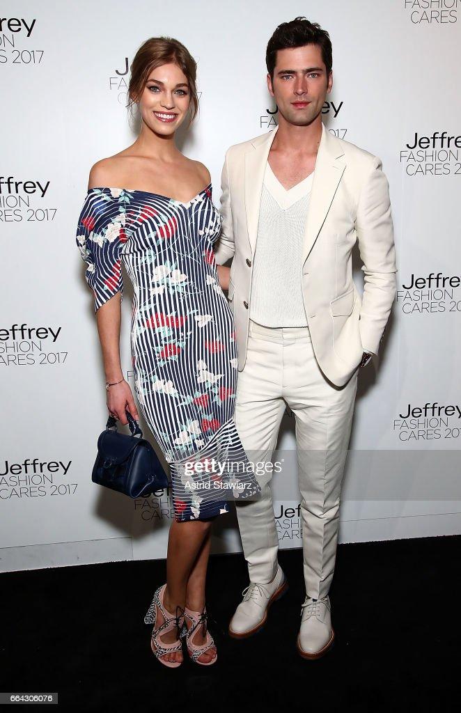 Jeffrey Fashion Cares 2017 - Arrivals : News Photo