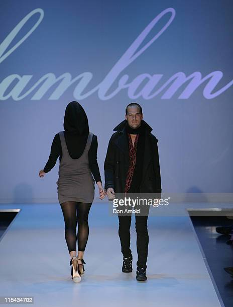 Models showcase designs on the catwalk by BamBam Cloth as part of the Ready To Wear show on the third and final day of Rosemount Australian Fashion...