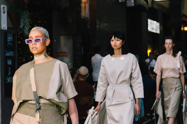 AUS: Melbourne Fashion Week: Meyers Place Runway