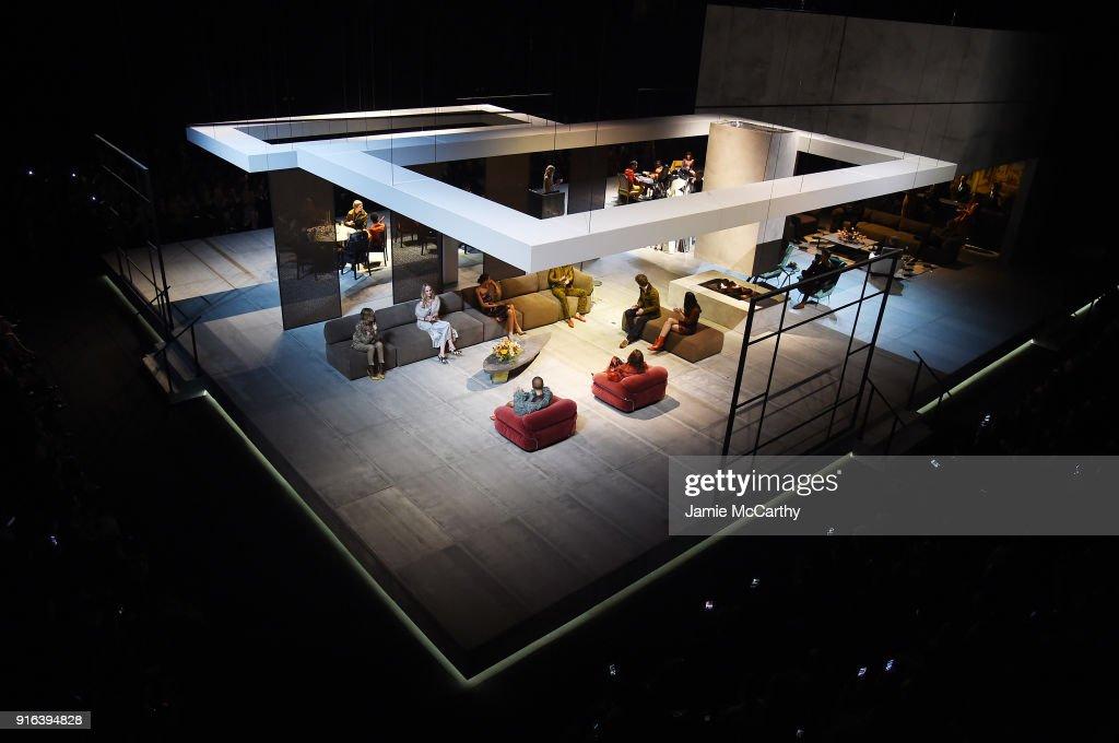 Bottega Veneta Fall Winter 2018 Fashion Show in NY : ニュース写真