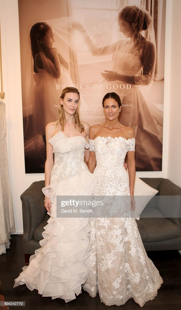 Brides do Good Pop-Up - Bicester Village Photos and Images | Getty ...