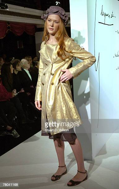 Models take part in the Agnes B Summer 2008 Catwalk show at Pacha nightclub Victoria Street on November 21 2007 in London England
