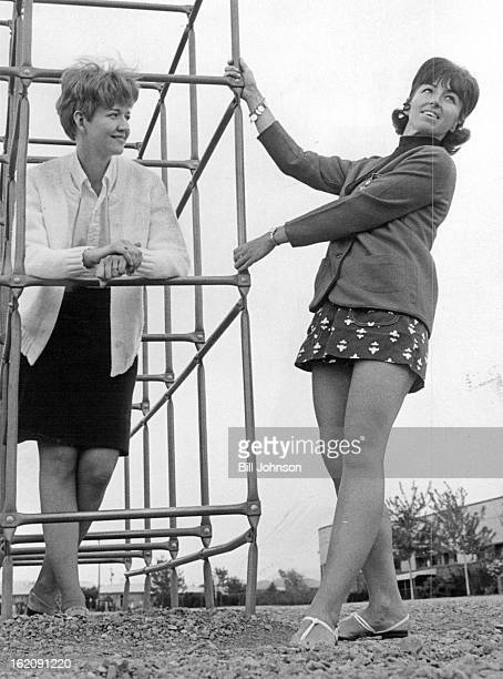 MAY 27 1971 MAY 28 1971 JUN 2 19671 Models to appear in JayceeEtte style show Mrs Henry Nieto left and Mrs Gary Brinson will be among Lakewood South...