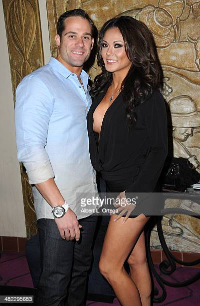 Models Todd Vinson and Jennifer Irene attend 5th Annual Indie Series Awards held at El Portal Theatre on April 2 2014 in North Hollywood California