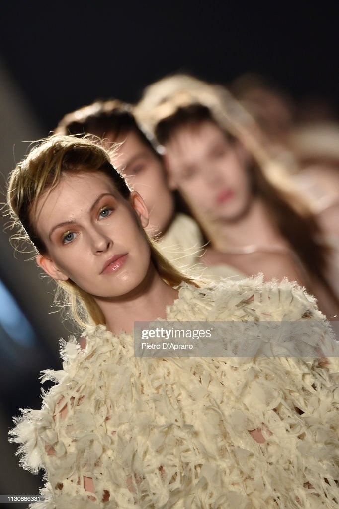 ITA: Alberto Zambelli - Runway: Milan Fashion Week Autumn/Winter 2019/20