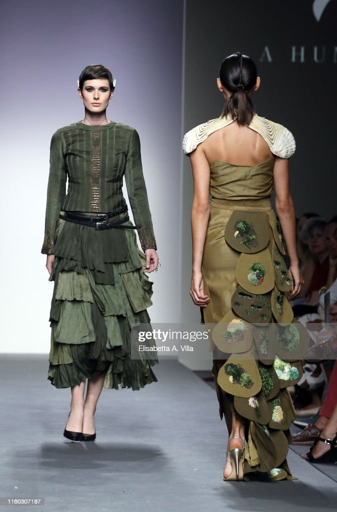 Models Walk The Runway At A Humming Way International Couture Fashion News Photo Getty Images
