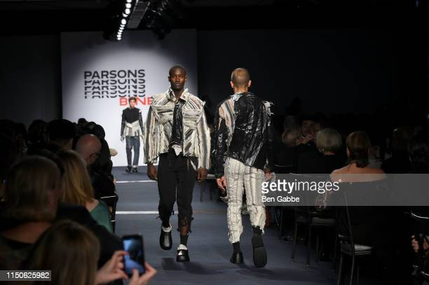 Models walk the runway at the 71st Annual Parsons Benefit honoring Pharrell, Everlane, StitchFix & The RealReal on May 20, 2019 in New York City.