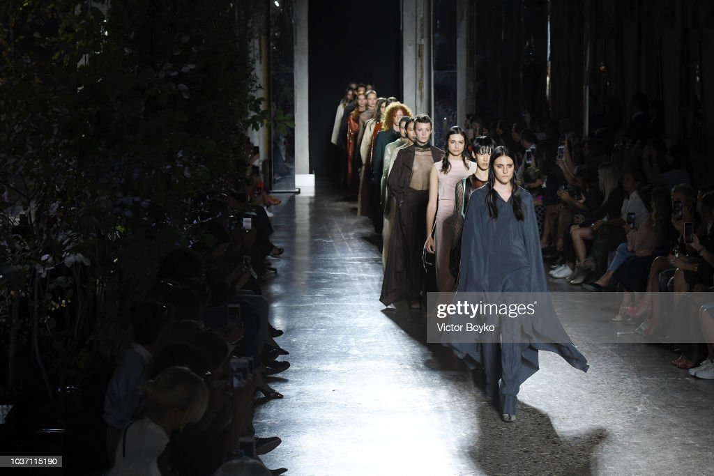 Calcaterra - Runway - Milan Fashion Week Spring/Summer 2019