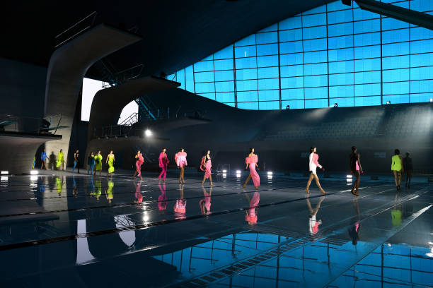 GBR: David Koma - Runway - LFW September 2021