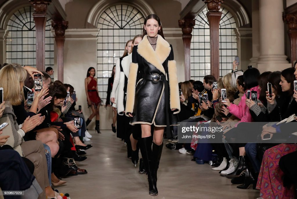 David Koma - Runway - LFW February 2018