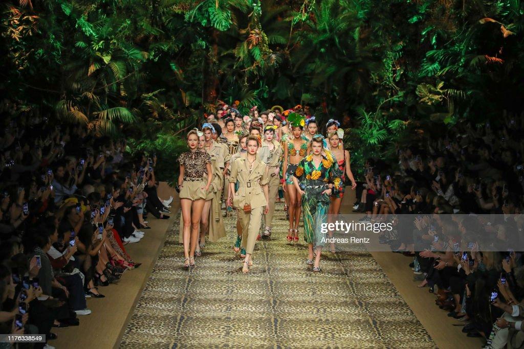 Dolce & Gabbana - Runway - Milan Fashion Week Spring/Summer 2020 : Photo d'actualité