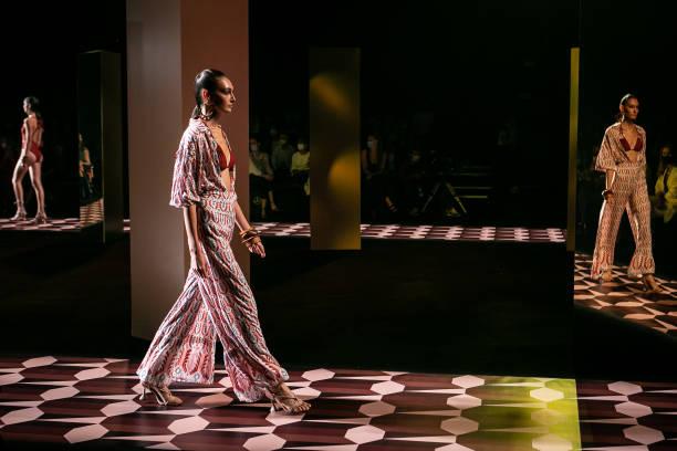 ESP: Dolores Cortes - Catwalk - Mercedes Benz Fashion Week Madrid - September 2021