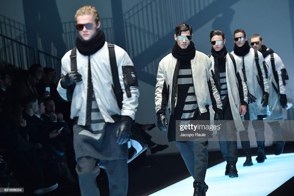 Emporio Armani - Runway - Milan Men's Fashion Week Fall/Winter 2017/18 : News Photo