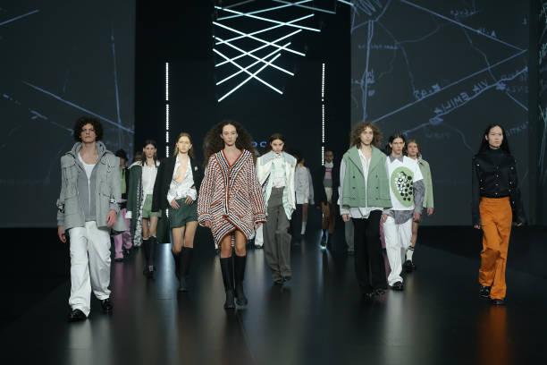 "ITA: Altaroma 2021 - Federico Cina ""A Emilia"" Fashion Show - Runway"