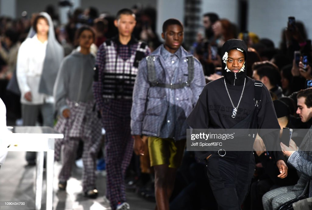 Private Policy Presented by GQ China - Runway - LFWM January 2019 : News Photo