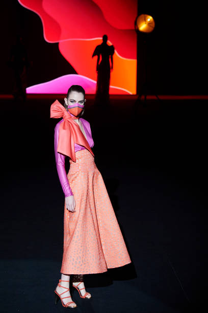 ESP: Hannibal Laguna - Mercedes Benz Fashion Week Madrid - April 2021