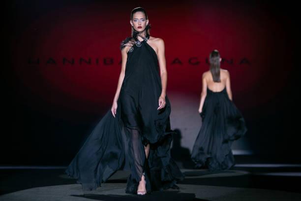 ESP: Hannibal Laguna - Catwalk - Mercedes Benz Fashion Week Madrid - September 2021