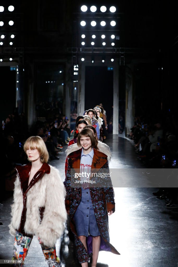 Marco Rambaldi Supported By CNMI e CNMI Fashion Trust - Runway: Milan Fashion Week Autumn/Winter 2019/20 : News Photo