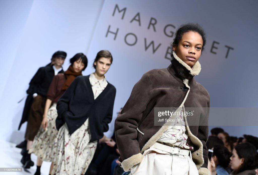 Margaret Howell - Runway - LFW February 2019 : ニュース写真