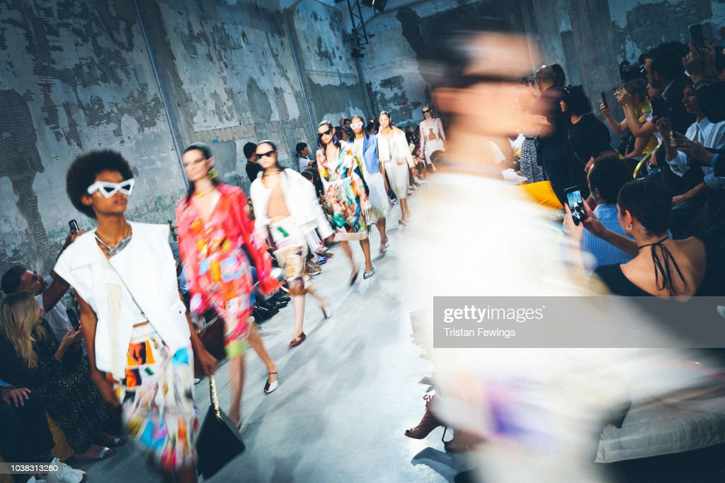 Colour Alternative View - Milan Fashion Week Spring/Summer 2019 : News Photo