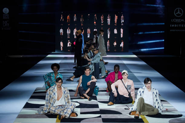 ESP: Pablo Erroz - Mercedes Benz Fashion Week Madrid - April 2021