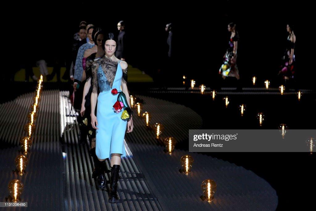 ITA: Prada - Runway: Milan Fashion Week Autumn/Winter 2019/20