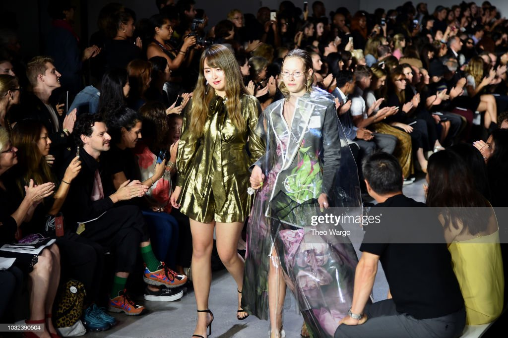 RISD - Front Row - September 2018 - New York Fashion Week: The Shows : News Photo