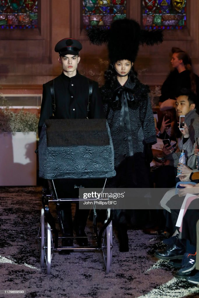 GBR: Ryan Lo - Runway - LFW February 2019