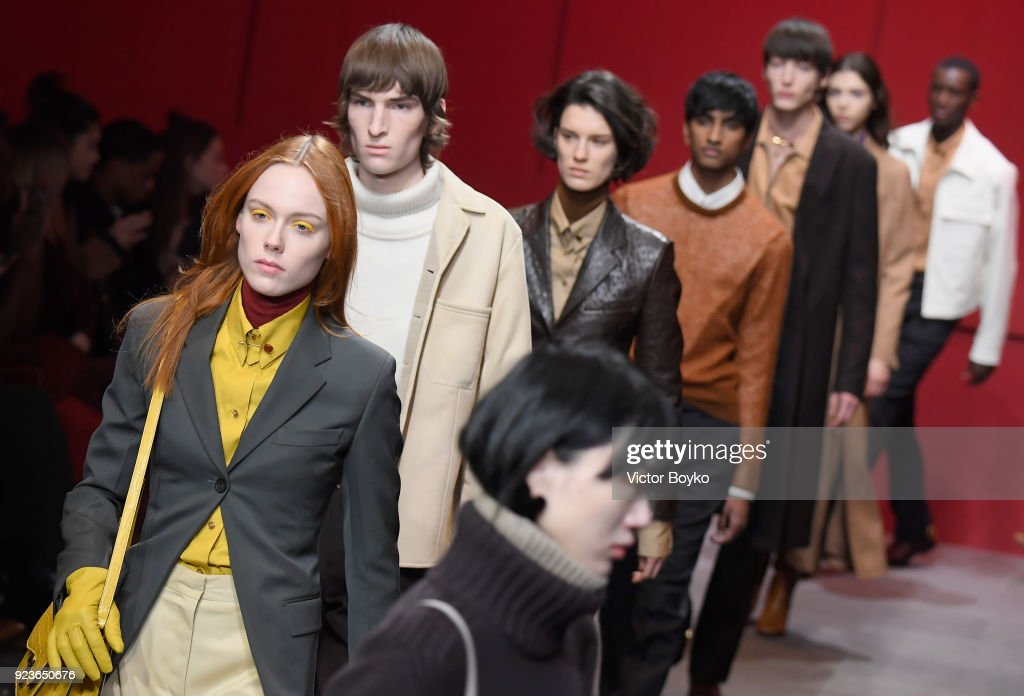 Salvatore Ferragamo - Runway - Milan Fashion Week Fall/Winter 2018/19