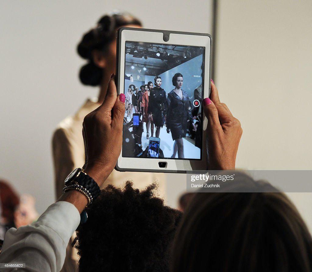 Models walk the runway at the Snowman fashion show during Mercedes Benz Fashion Week Spring 2015 at Helen Mills Event Space on September 4, 2014 in New York City.