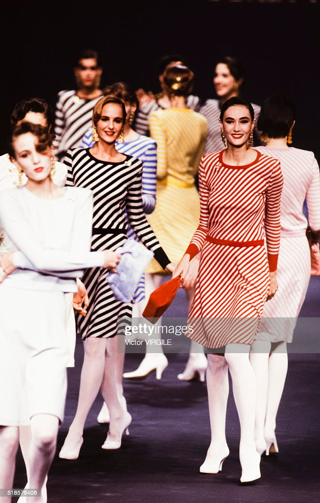 Sonia Rykiel - Runway - Ready To Wear Spring/Summer 1988-1989 : Photo d'actualité