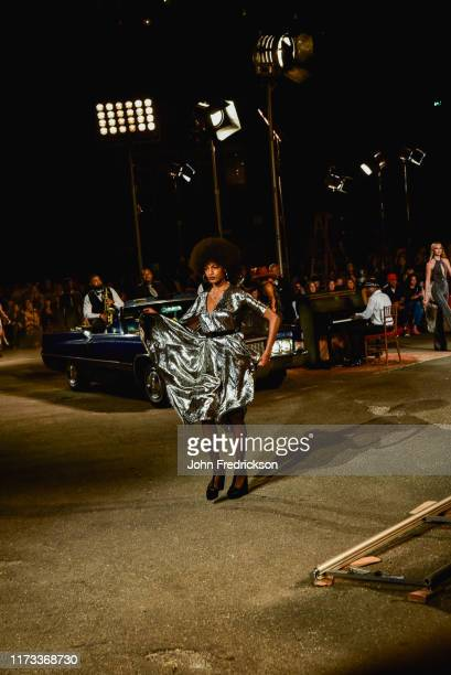 Models walk the runway at the Tommy X Zendaya runway show at The Apollo Theater on September 08 2019 in New York City