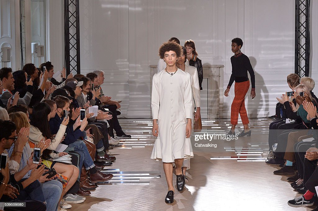 Wales Bonner - Mens Spring 2017 Runway - London Menswear Fashion Week : News Photo