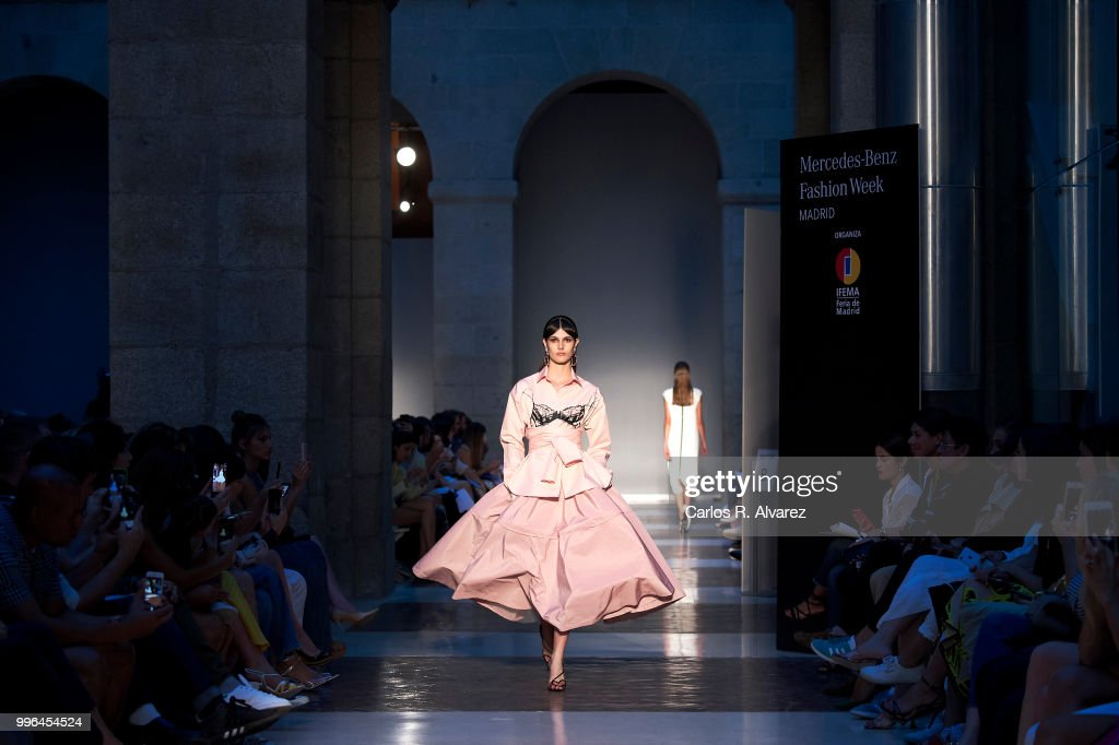 Models Walk The Runway During Juan Vidal Show At Mercedes Benz Fashion Week  Madrid Spring/