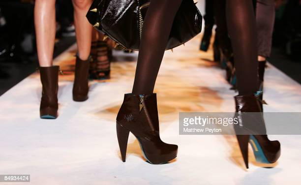 Models walk the runway during Payless at Christian Siriano 2009 Fashion Show at MercedesBenz Fashion Week in New York February 19 2009