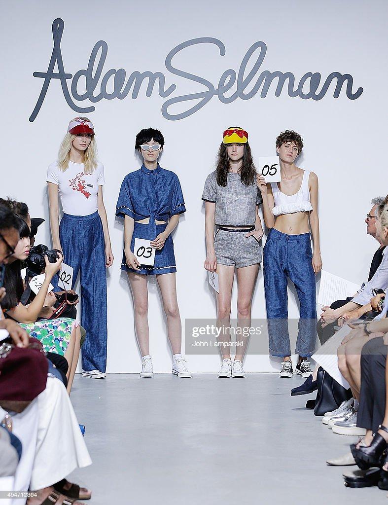 Adam Selman - Presentation - Mercedes-Benz Fashion Week Spring 2015 : News Photo